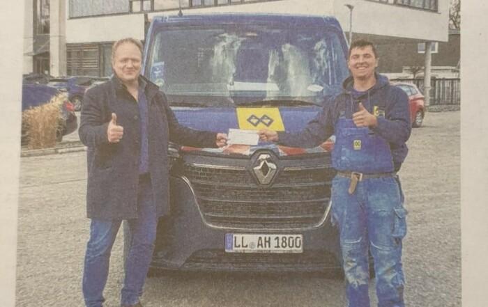 Gesellenbrief - Bericht LT mit Florian Greinwald
